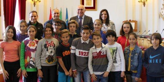 El Colegio Trajano de Mérida se proclama campeón de Extremadura de Atletismo Divertido