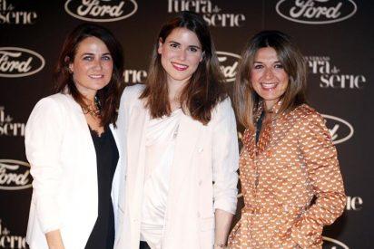 Laura Ponte y Fiona Ferrer, en el estreno de 'El gran verano'