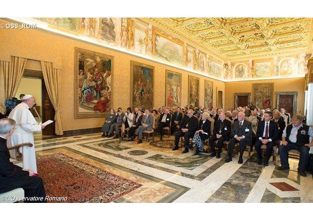 """El Papa denuncia las """"nuevas formas de esclavitud, peores que las del pasado"""""""