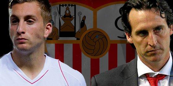 Cruce de pullas en Twitter entre Emery y Deulofeu