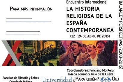 Historia religiosa de la España Contemporánea