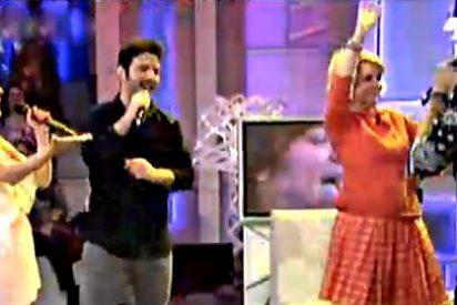 Esperanza Aguirre se arranca a bailar en 'Qué Tiempo tan Feliz'