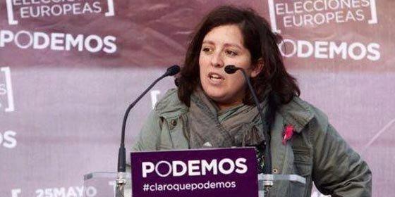Así se le calentó la boca a la sustituta de Echenique (Podemos) cuando se quedó inicialmente sin euroescaño
