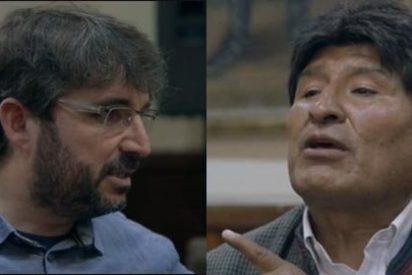 """Evo Morales se pone chulo con Évole y le da órdenes en la entrevista: """"En tu documental quiero escuchar que hago lo que manda el pueblo"""""""