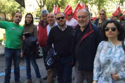 """Extremeños, presente en la manifestación """"Salvemos Acorex"""""""