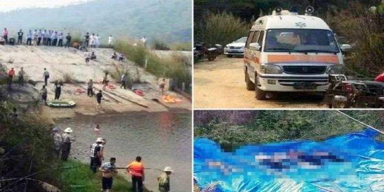 Un joven cae a un embalse y mueren sus 6 familiares tratando de salvarle: venían del cementerio