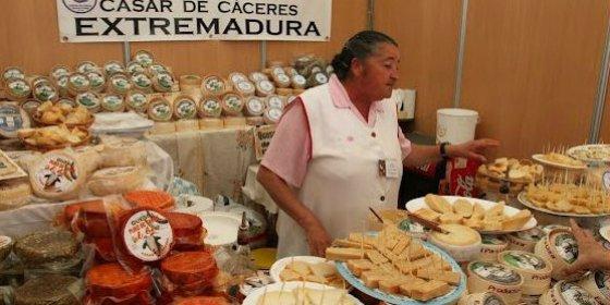 La Feria Nacional del Queso en Trujillo (Cáceres)