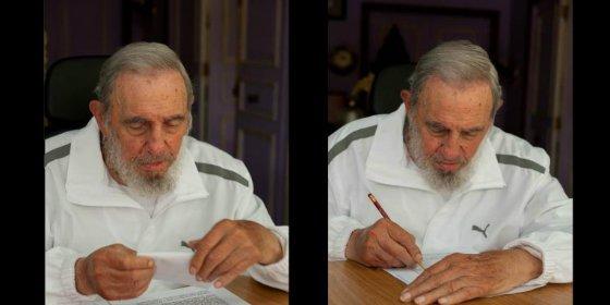 [Vídeo] De esta forma vota un decrépito Fidel Castro en las municipales