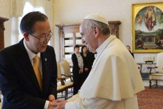 Ban Ki-moon y Bergoglio hablarán sobre la tragedia de los inmigrantes
