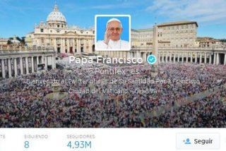 """El Twitter del Papa alcanza los 20 millones de """"followers"""""""