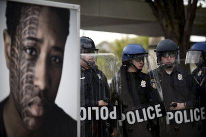 Caos, violencia racial y tremendos disturbios en Baltimore