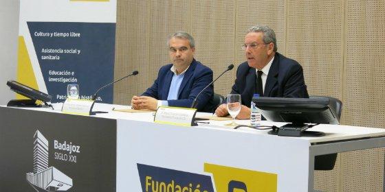 Fundación Caja Badajoz firma un convenio de colaboración con el Ayuntamiento de Badajoz