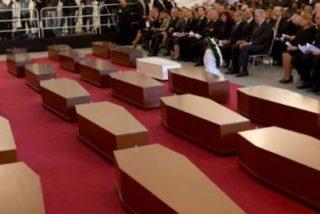El obispo y el imán presiden en Malta un funeral conjunto por los 800 inmigrantes muertos en el Mediterráneo
