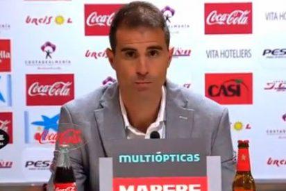 """Garitano, después de ser criticado por algunos periodistas por contestar en euskera: """"Cuando no te dejan hablar, te levantas y te vas"""""""