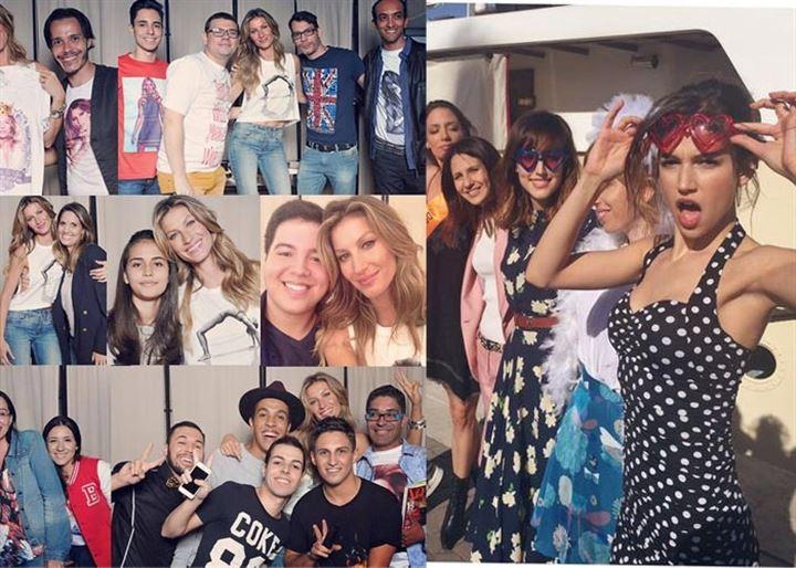 El fin de semana de los famosos vip: Úrsula Corberó, Gisele Bundchen y Victoria Beckham
