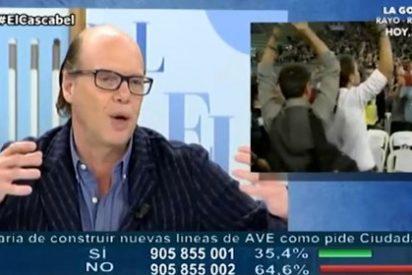 Jaime González se chotea a mandíbula batiente del fiasco de Podemos con su cepillo laico