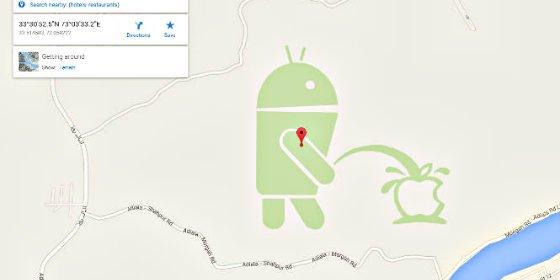 Android 'se mea' encima de Apple