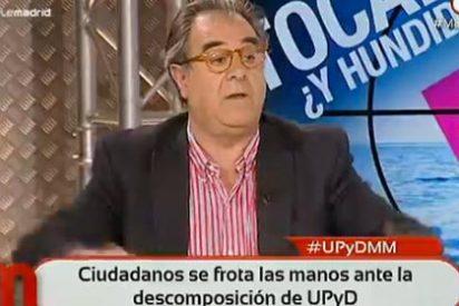 """Graciano Palomo: """"El señor Rivera dice que sólo militó en UGT y yo he sacado su ficha de afiliado a Nuevas Generaciones"""""""