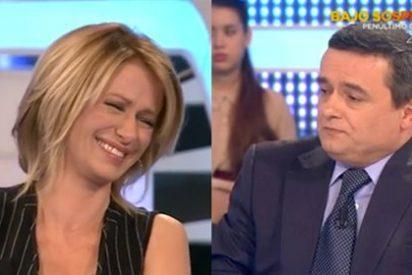 Susanna Griso se mofa de Chema Crespo (Público) por decir que en el PSOE hay cohesión interna