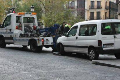 El coste medio de una grúa municipal es de 100 euros