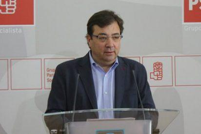 """Fernández Vara: """"No voy a permitir ayuntamientos de izquierdas con gobiernos de derechas"""""""