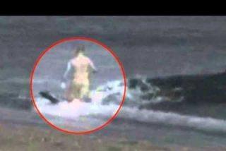 El secreto del vídeo millonario del chaval devorado por una orca en la playa