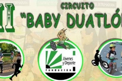 Zafra acoge la segunda prueba del III Circuito Baby Duatlón