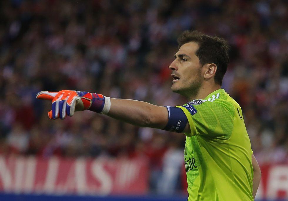 Casillas 'calienta' a la afición Atlético con su último tweet