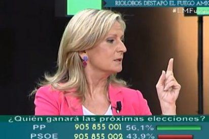 """Isabel San Sebastián: """"Rajoy nunca echa a nadie, siempre los va empujando hasta que se terminan yendo"""""""