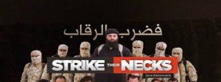 El vídeo sin censura de la decapitación de 8 'infieles impuros' a manos del EI