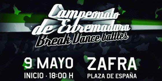 Abierto el plazo para inscribirse en el IV Campeonato de Break Dance de Extremadura