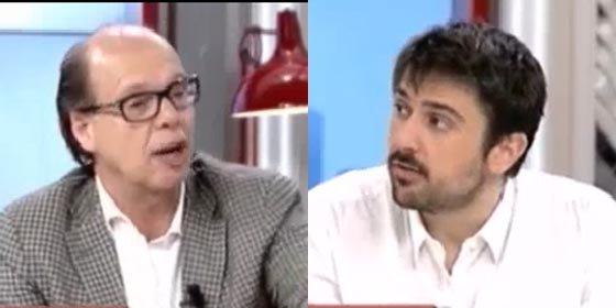 Jaime González se ríe en la cara del podemita Espinar por decir que en Podemos no hay lucha de poder