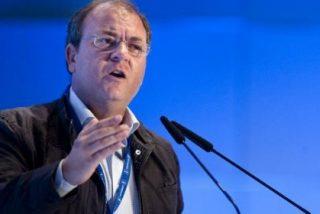 Monago presenta el proyecto de regadíos en Monterrubio de la Serena