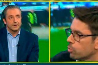 """Pedrerol, a Roberto Morales: """"La diferencia entre tú y yo es que a ti te sobran las críticas a Casillas en este programa y a mí no me sobras ni tú"""""""