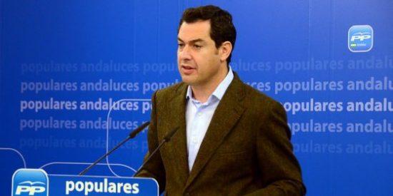 """Moreno: """"Susana Díaz se sigue comportando como si fuera la líder de la oposición a Mariano Rajoy"""""""