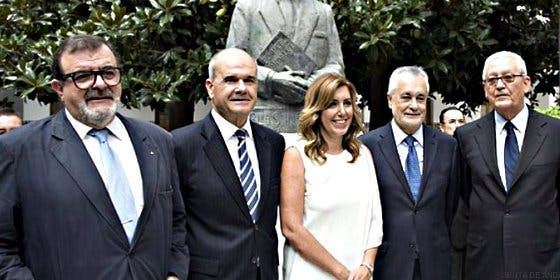 Todos los ex de la socialista Susana Díaz