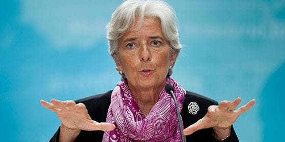 """Christine Lagarde: """"El sistema capitalista tiene margen para la renovación"""""""