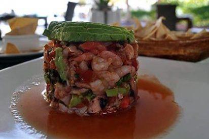 Comiendo un Ceviche de Ensueño en la Riviera Maya