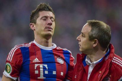 El Bayern llega maltrecho a la cita con el Barça: Robben y Lewandowski son baja