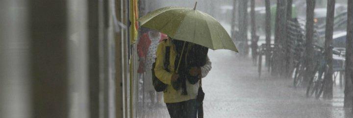 Activada la alerta amarilla por fuertes lluvias y tormentas en la provincia de Badajoz