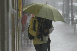 Activada alerta amarilla por probabilidad de fuertes lluvias y tormentas en la provincia de Badajoz