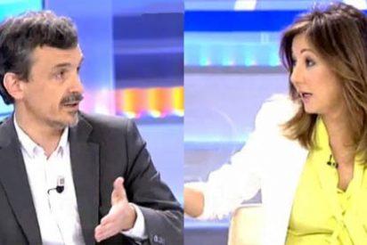 El candidato de Podemos en Madrid se apea del burro y acepta las preguntas de los tertulianos de Ana Rosa