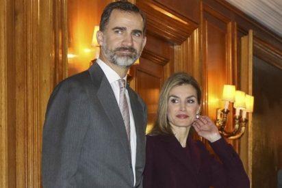 Don Felipe y Doña Letizia presiden la entrega de becas de la Fundación La Caixa