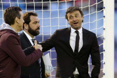 """Luis Enrique reconoce la sufrida victoria ante el Celta: """"Ganar nunca es malo, aunque sea así"""""""