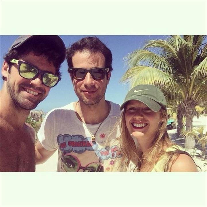 Las románticas vacaciones de Manuela Velles y Miguel Ángel Muñoz