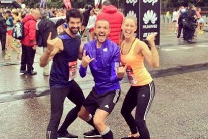 Manuela Vellés y Miguel Ángel Muñoz recorren juntos 21 kilómetros