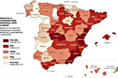 ¿Sabes qué provincias españolas han resistido mejor y peor estos 7 años de crisis?