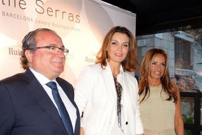 Judith Mascó, Mar Flores y Vanesa Lorenzo acuden a la inauguración de The Serras en Barcelona