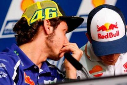 """Marc Márquez tras su 'pique' y caída en el GP de Argentina: """"Lo de Rossi lo dejaría en un lance de carrera"""""""