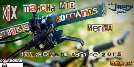 """Nueva edición de la Marcha MTB """"Embalses Romanos de Mérida"""""""